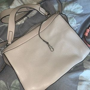 Gray Michael Kors Handbag